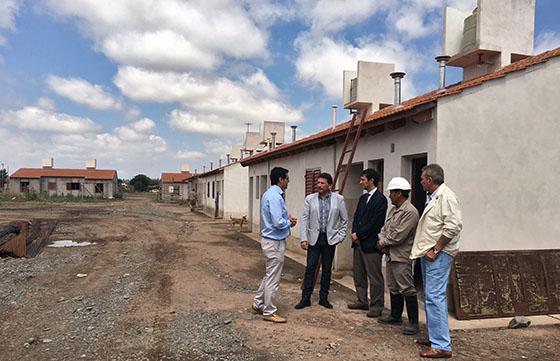 En Rosario de la Frontera el IPV construye 200 viviendas