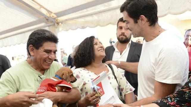 Con las cien nuevas casas entregadas en El Huaico, en la gobernación de Urtubey 18.417 familias pasaron a ser propietarias