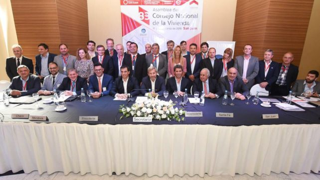 Salta fue elegida para la vicepresidencia del Comité Ejecutivo del Consejo Nacional de la Vivienda