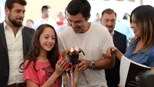 Adjudicatarios del IPV continúan adoptando mascotas de la calle