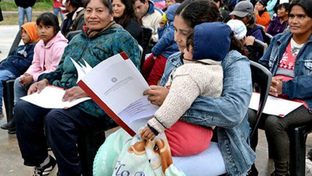 En barrio El Huaico habrá un puesto del IPV para escriturar gratis la vivienda