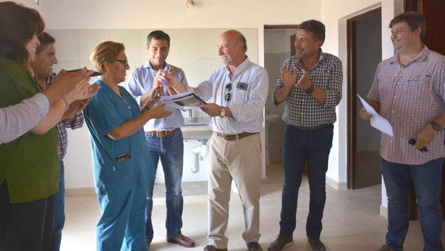 En los últimos seis meses el Gobierno entregó en el interior 13 casas para profesionales de salud