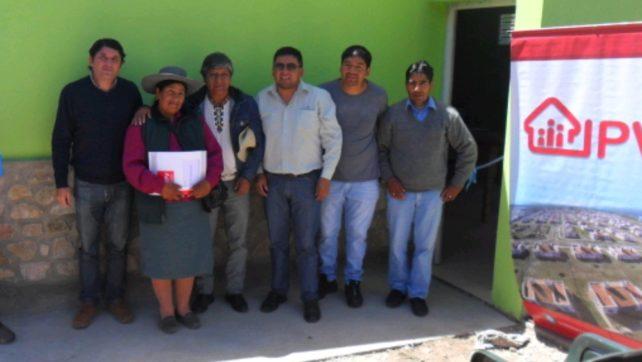 Aborígenes de Nazareno cuentan con su vivienda propia