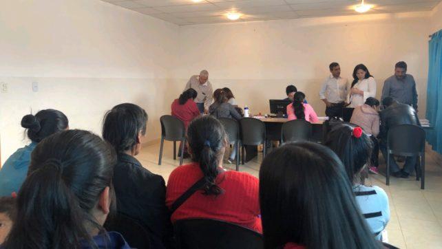 Última semana para el re empadronamiento de familias en Cafayate
