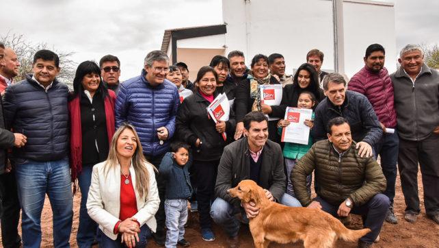 «En un contexto de crisis nacional, en Salta seguimos inaugurando obras y resolviendo los problemas de la gente»