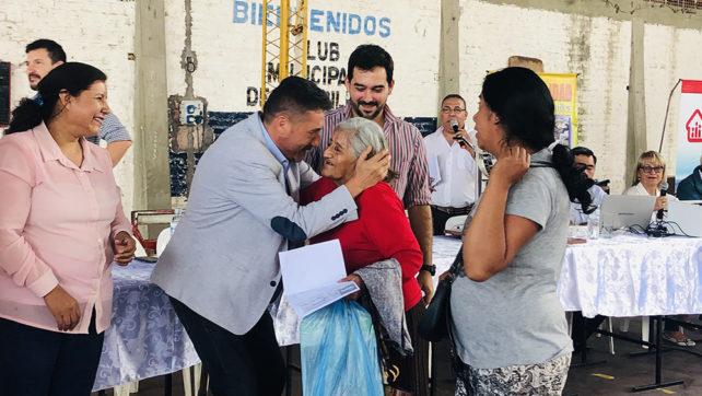 El IPV adjudicó lotes al total de casos especiales en Cerrillos
