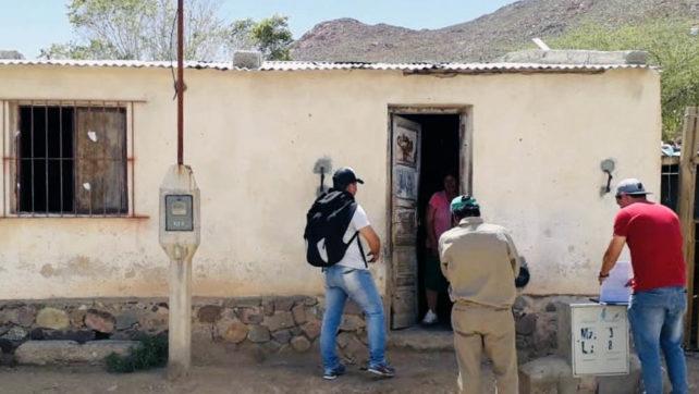 Familias de la Puna salteña fueron relevadas por el IPV