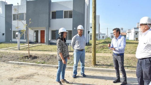 Las etapas de viviendas más avanzadas del barrio Pereyra Rozas se entregarán en 60 días