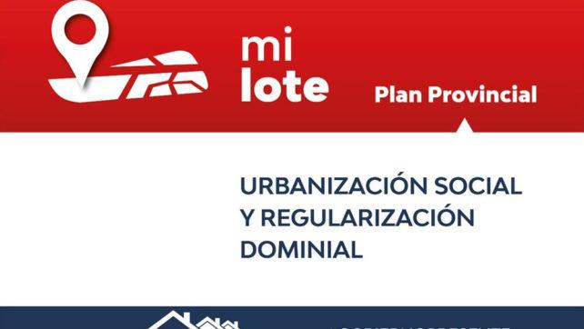 El 30% de los inscriptos para el plan Mi Lote son del interior de la provincia
